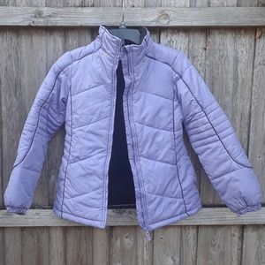 Purple Coat Size: L